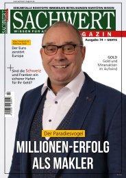 Sachwert Magazin, Ausgabe 74