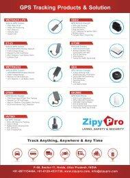 GPS tracker Company India ZipyPro