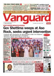 08012019 - BOKO HARAM MENACE IN BORNO::Gov Shettima weeps at Aso Rock, seeks urgent intervention