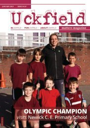Uckfield Matters Magazine Issue 137 Jan 2019
