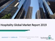 Hospitality Global Market Report 2019