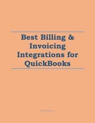 Best Billing & Invoicing Integrations for QuickBooks