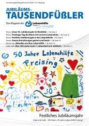 2018 DEZEMBER / FESTSCHRIFT ZUM JUBILÄUM 50 JAHRE LEBENSHILFE FREISING
