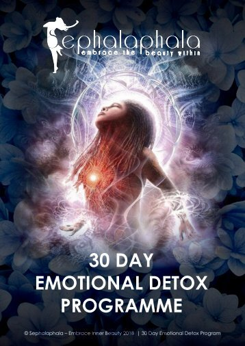 Emotional Detox programme