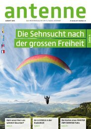 antenne August 2015