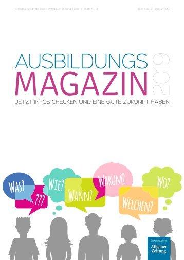 Ausbildungsmagazin 2019 - Füssen