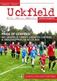 Uckfield Matters Magazine issue 134 Oct 2018