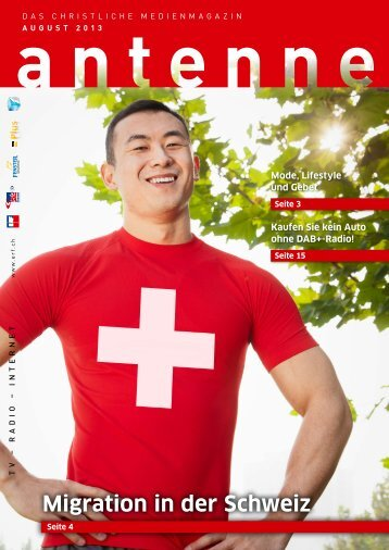 antenne August 2013