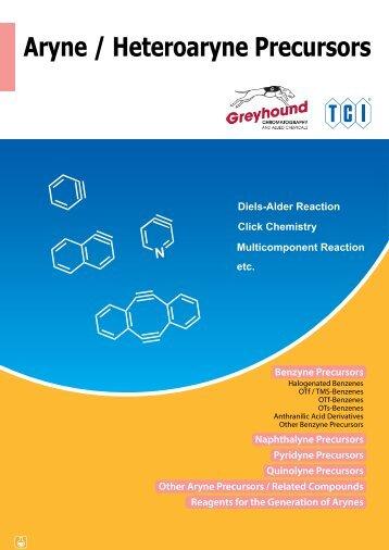 Tokyo Chemical Industries (TCI) Aryne Heteroaryne Precursors