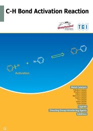 Tokyo Chemical Industries (TCI) C-H Bond Activation Reaction