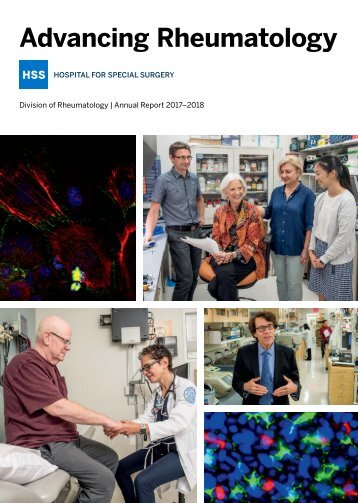 HSS Rheumatology Annual Report 2017-2018