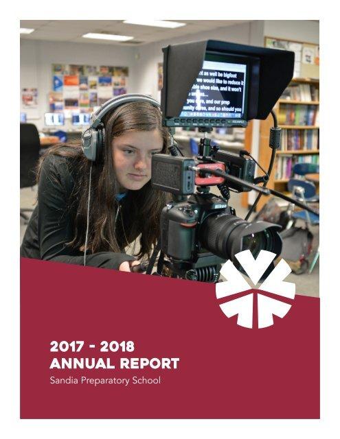 Sandia Prep 2017-2018 Annual Report