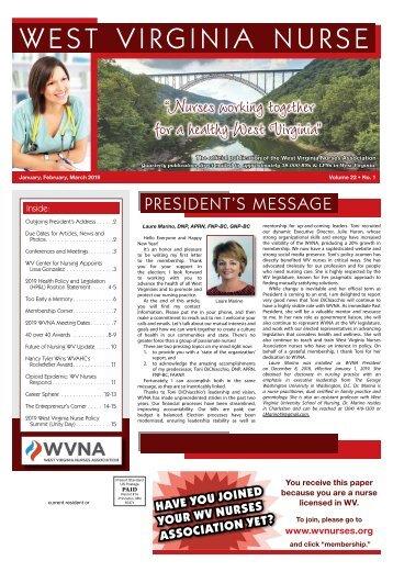 West Virginia Nurse - January 2019