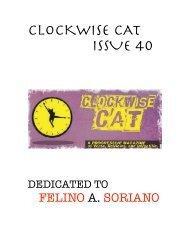 Clockwise Cat Issue 40