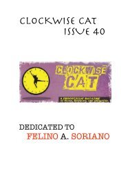Clockwise Cat Issue 40