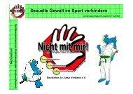 Sexuelle Gewalt im Sport verhindern - Deutscher Kinderschutzbund ...