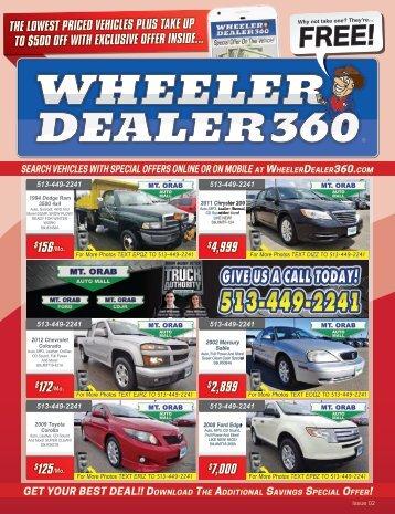 Wheeler Dealer 360 Issue 02, 2018