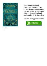Ebook Fantastic Beasts And Where To Find Them Bahasa Indonesia