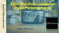 Cyber Web Guru – Integrated Digital Marketing Agency