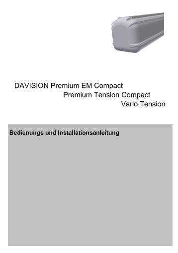 DAVISION Premium EM Compact Premium Tension Compact Vario ...