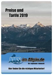 Jobs-im-Allgäu.de Mediadaten