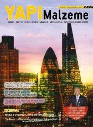 Yapı Malzeme Dergisi Ocak 2019