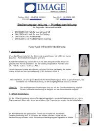 Bedienungsanleitung DAVISION Multiformat Versionen 2 + 5