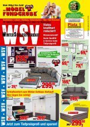 Die Möbelfundgrube KW2