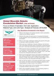 Wearable Robotic Exoskeleton Market Analysis