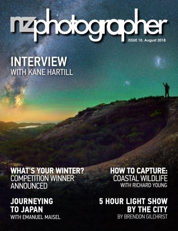 NZPhotographer Issue 10, Aug 2018