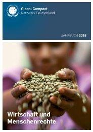 Wirtschaft und Menschenrechte - Jahrbuch Global Compact Deutschland 2018