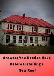 Licensed Roofing Contractor | Metal Roofing Contractors Northern VA