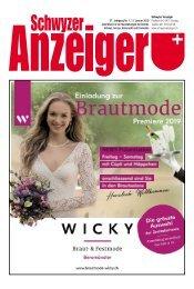 Schwyzer Anzeiger – Woche 3 – 11. Januar 2019