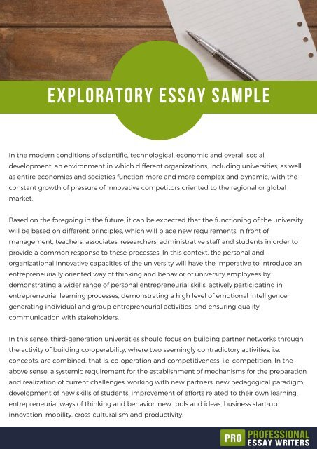 Essay Writing Examples For High School Essay On My Favorite Teacher Animal Abuse Essays Also Yale Supplement Essay  Exploratory Essay Sample Define Essay On Importance Of Good Health also Thesis Argumentative Essay Robber Barons Essay How To Write An Exploratory Essay With Sample  English Essays For Students