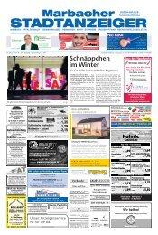 Marbacher Stadtanzeiger KW 2/2019