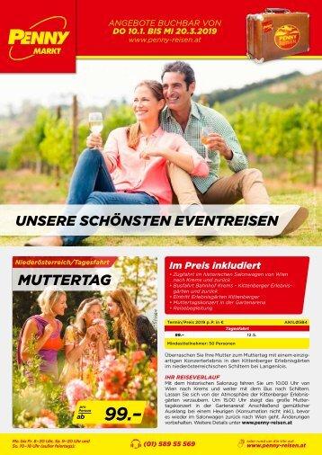 PENNY Reisen Ferien-Messe 2019 Eventreisen