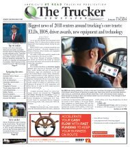 The Trucker Newspaper - January 1, 2019