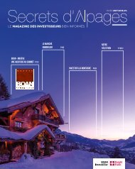 Boan Secrets d'Alpages