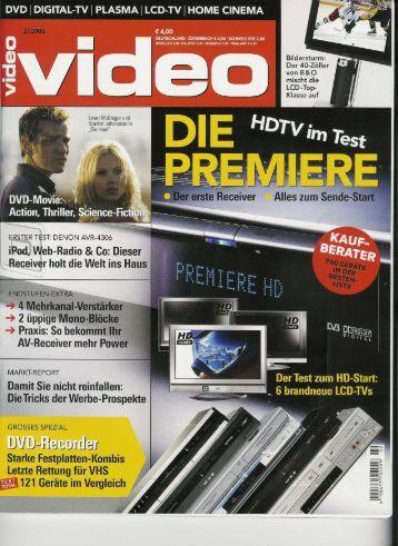 DVD | DIGITAL-TV | PLASMAI LCD-TV | HOME CINEMA