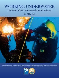 Working Underwater: The Story of the Commercial Diving Industry
