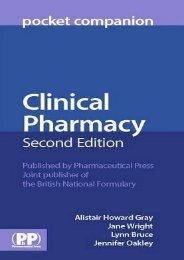 Clinical Pharmacy Pocket Companion ()