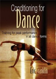 Conditioning for Dance: Training for Peak Performance in All Dance Forms (Eric Franklin)