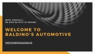 Best Automotive Locksmith In Entire Washington DC | Baldino's Automotive