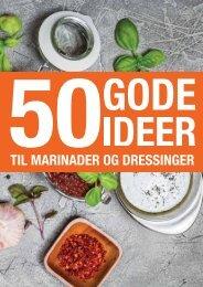 50 gode ideer til marinader og dressinger