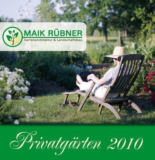 Gartenarchitektur & Landschaftsbau - MAIK RÜBNER - Garten
