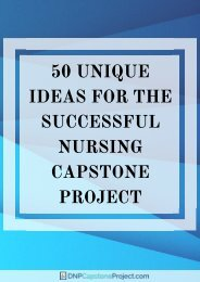 the-best-family-nurse-practitioner-capstone-project-ideas