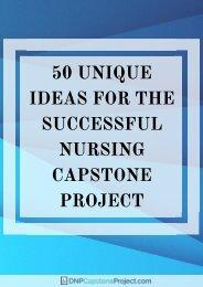 the-best-family-nurse-practitioner-capstone-project-ideas