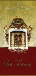 Das kleine private Museum Voith v. Voithenberg