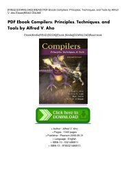 Compilers Principles Techniques Tools Pdf