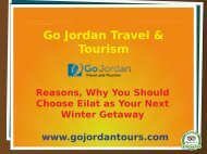 Reasons, Why You Should Choose Eilat as Your Next Winter Getaway